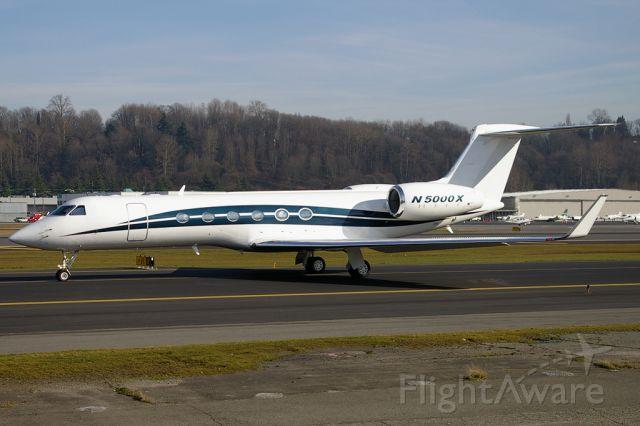 Gulfstream Aerospace Gulfstream V (N5000X)