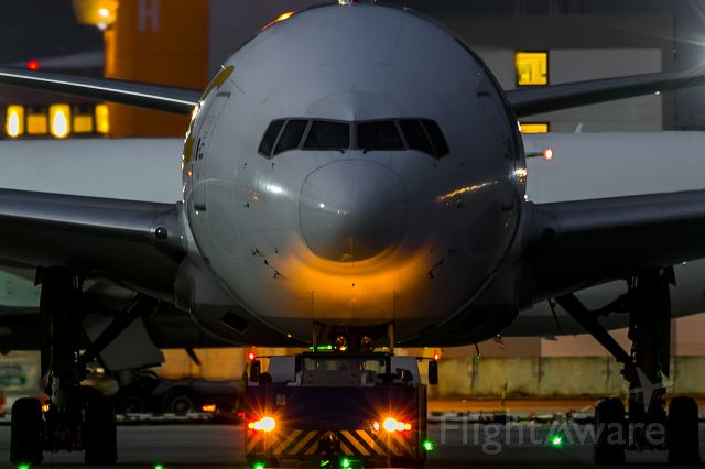 Boeing 777-200 (D-AALF) - smile you are on radar