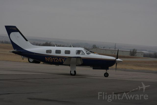 Piper Malibu Mirage (JETRACN) - I took this pic as Mike Arrived today via Black Hills Airport