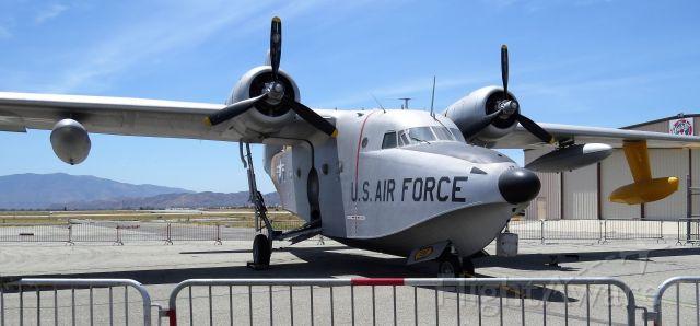 Grumman HU-16 Albatross (51-7195) - Grumman HU-16 at Chino Air Show - 2018