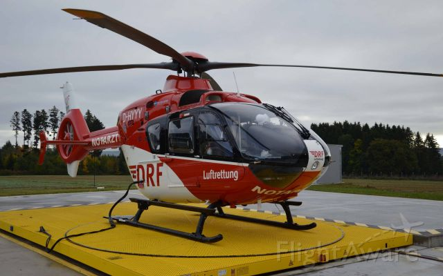 Eurocopter EC-635 (D-HYYY) - HELI Basis , rescue Helicopter EC-H135br /br /( use + photo M.B. DRF )