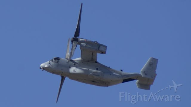 Bell V-22 Osprey (16-5842) - S/N 90028 taking off out of Amarillo, along with two other Ospreys.
