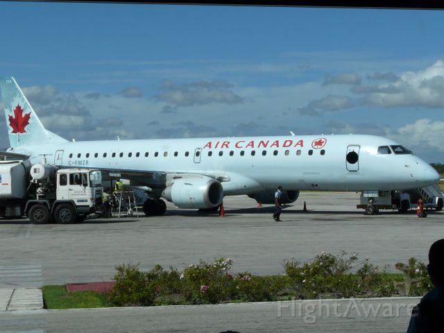 Embraer ERJ-190 (C-FMZR) - First time ever in Holguin, Cuba!!!, an E-jet, E-190 from Air Canada!!