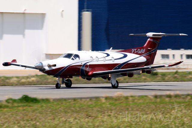 Pilatus PC-12 (PT-GAV)