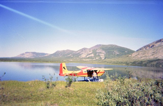 Cessna Skywagon 180 (N1251B) - Gone Fishing. Brooks Range Alaska.