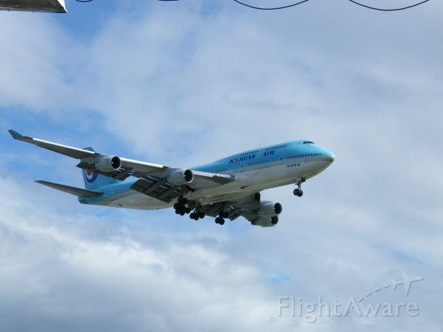 Boeing 747-200 (HL7473) - HL-7473 Boeing 747-4B5   CN 28335/1098 Korean Air seen arr lhr 12/07/08