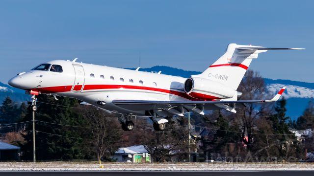 Embraer Legacy 550 (C-GWON)
