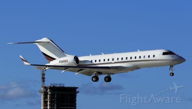 Bombardier Global Express (N160QS)