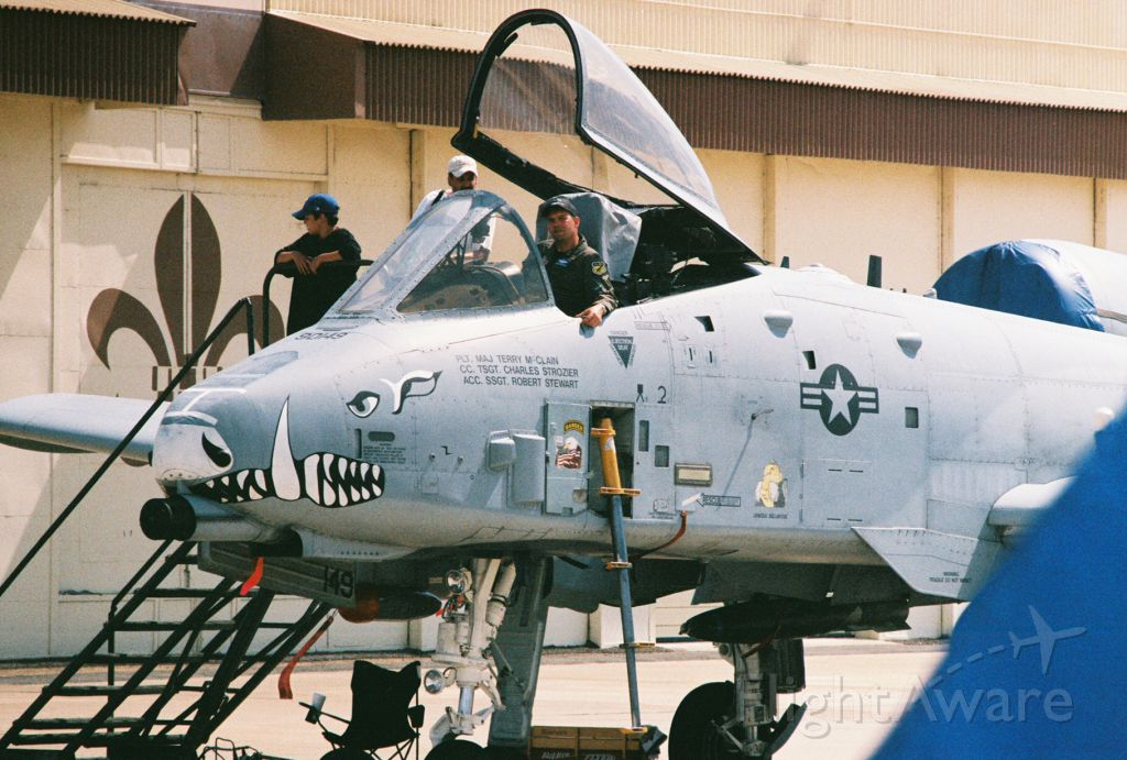 Fairchild-Republic Thunderbolt 2 (79-0149) - A-10A Thunderbolt II, Ser. 79-0149, from 917th FW, 47th FS, Barksdale AFB, on display at Barksdale 2005 airshow.