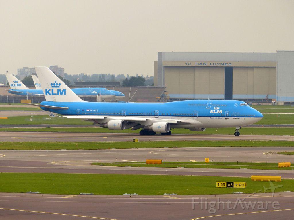 Boeing 747-400 (PH-BFS) - Date 12/09/15 c/n 28195