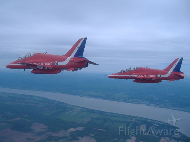 Boeing Goshawk (XX308) - This picture was taken on a media flight with the Red Arrows, in June 2008. Paul-R. Raymond