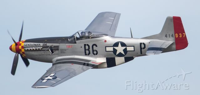 North American P-51 Mustang (N551J) - 1 of Jack Roush's P-51. This one pictured is a P-51D and it's leaving the sight of showgoers at Thunder Over Michigan 2019.