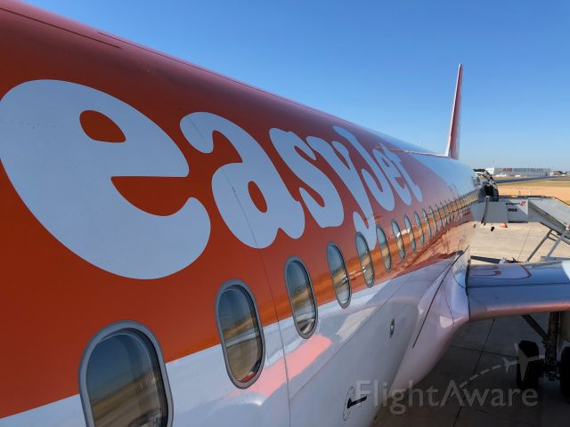 Airbus A320 (G-EZTC) - Beautiful Day For a Flight to LGW
