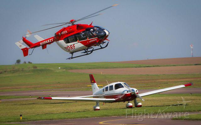 Eurocopter EC-635 (D-HDER) - SHOWING ! EC-H135 , Airport - EDDP/LEJ   ( DRF )