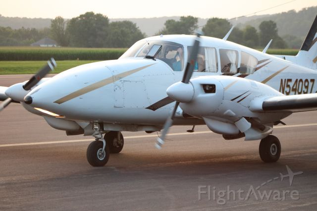 Grumman Super Ag-Cat (N54097) - N54097 taxiing on the apron @ KSEG for a VFR departure to the south off RW 35.