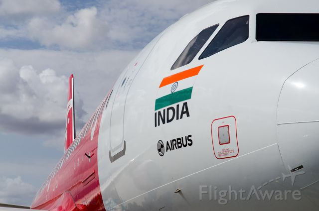 Airbus A320 (VT-ATF) - Air Asia India