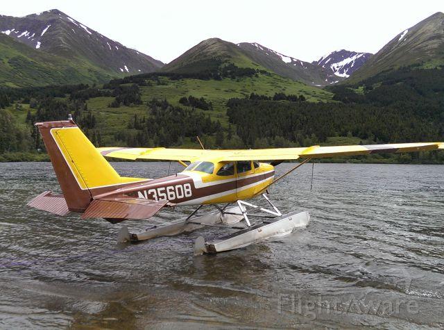 Cessna Skyhawk (N35608) - Lunch break