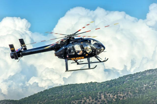 MD HELICOPTERS MD-600N (N745BW) - Low and fast into Utah