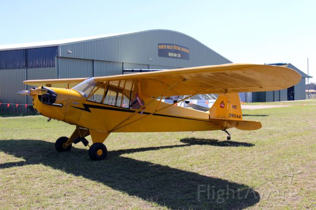 Piper NE Cub (VH-LEU) - Piper J3 C-65<br />Cessnock Airport NSW, Australia<br />Photo: 6.04.2019