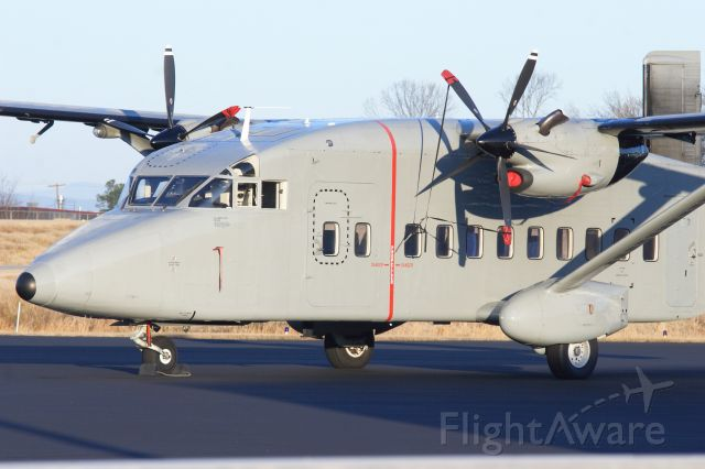 — — - US Army C-23B parked on the GA ramp at KGMU. Why it