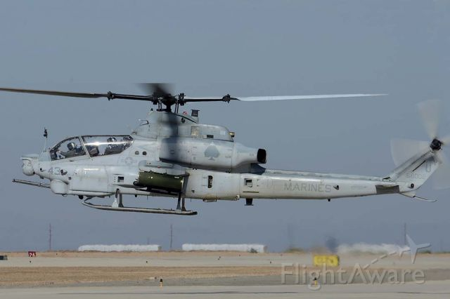 16-8002 — - Bell-Boeing AH-1Z Viper BuNo 168002 of HMLA-267 Stingers at NAF el Centro on February 19, 2015.