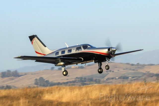 Piper Malibu Mirage (N795A) - Mirage Take-Off