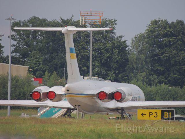 Ilyushin Il-62 (UR-86528) - VISITE DU PREMIER MINISTRE ET DE SA DÉLÉGATION AU LUX LE 24/06/2013.