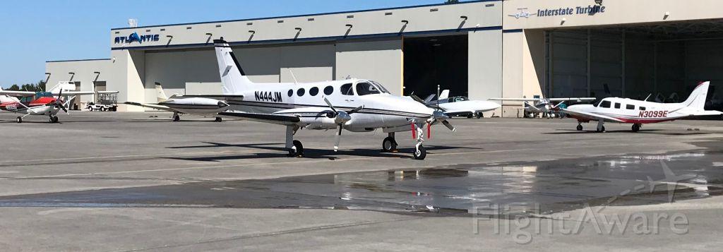Cessna 340 (N444JM) - Parked on the ramp at Atlantic FBO @ CHS