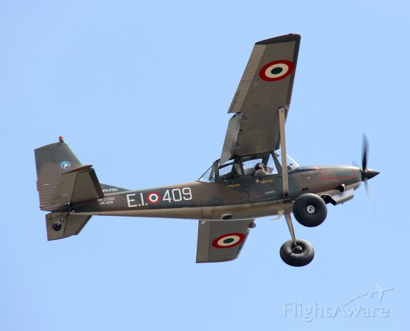 VH-PAC — - SIAI-Marchetti SM-1019br /Developed from Cessna O-1 Bird Dogbr /Manufactured in 1976, Italybr /Photo: 04.11.2012