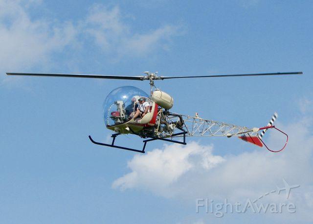 N666SM — - AirVenture 2016.     Bell 47G-3B-1