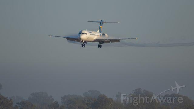 Fokker 100 (VH-UQF)