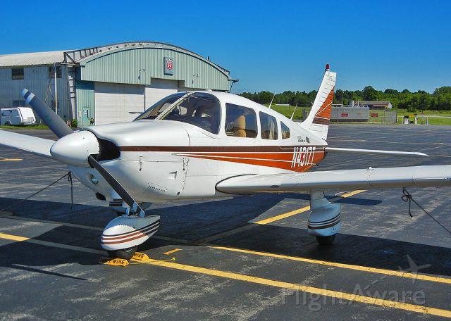 Piper Cherokee (N4317T) - My Piper Archer II in Glens Falls NY.