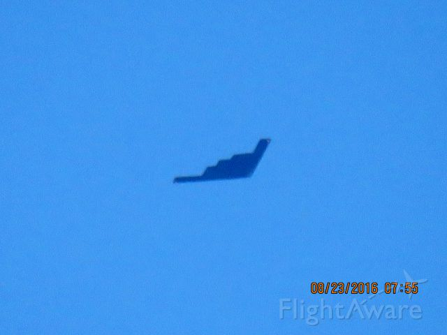 Northrop Spirit (88-0332) - Over Joplin Missouri