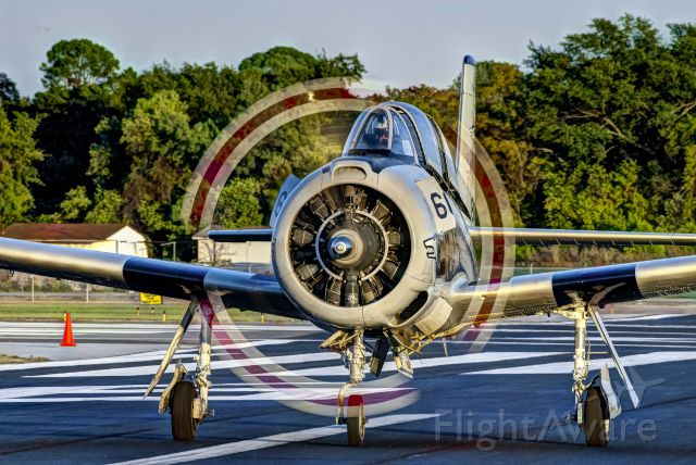 North American Trojan (N187GH) - A T-28 Trojan owned by Dan Serrato taxis after landing at the Augusta, Georgia airport for the 2011 Boshears Airshow.