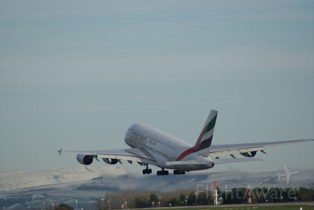 Airbus A380-800 (A6-EDW) - Emirates A380-861 cn103