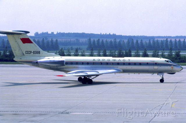 Tupolev Tu-134 (CCCP65616) - August 1969 at Vienna (LOWW)