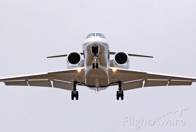 Cessna Citation X (N904QS) - NetJets Citation X landing Rwy 13.  10-19-12
