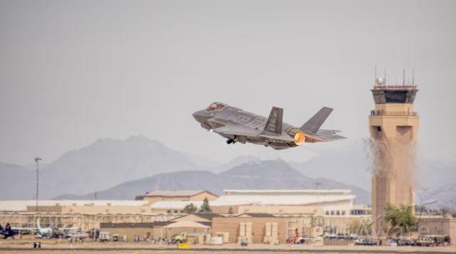 Lockheed F-35C (AFR155120) - F-35 Take off at Luke AFB, 3/16/18
