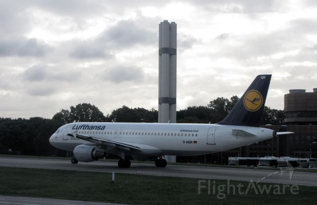 Airbus A320 (D-AIQR) - Lufthansa has the habit of naming their planes after German cities.  This one is named after the city of Lahr in the Black Forest, a city well known to many Canadian Forces members as it used to be the home of CFB Europe until 1994.