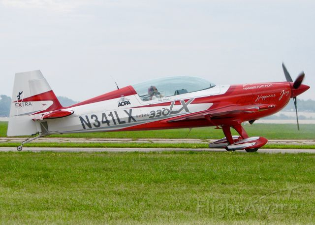 EXTRA EA-300 (N341LX) - AirVenture 2016. Patty Wagstaff.