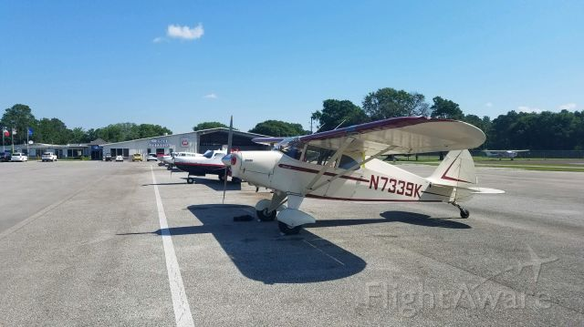 Piper PA-20 Pacer (N7339K)