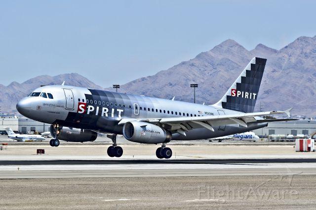 "Airbus A319 (N510NK) - N510NK Spirit Airlines Airbus A319-132 (cn 2622) ""Spirit of Fort Lauderdale""<br /><br />McCarran International Airport (KLAS)<br />Las Vegas, Nevada<br />TDelCoro<br />July 19, 2013"