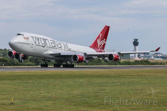 Boeing 747-400 (G-VBIG) - VIR75 off to Orlando