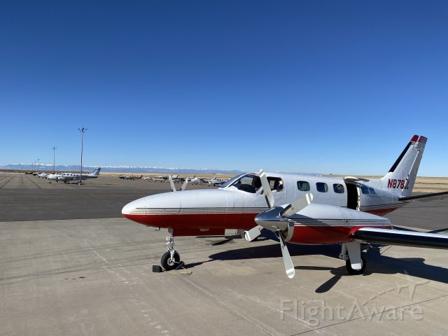 N878JL — - A beautiful background along with a beautiful plane.  That's a great day!