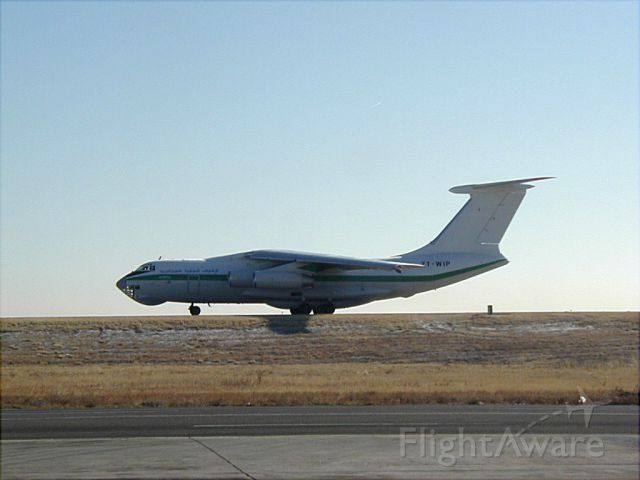 Ilyushin Il-76 (7T-WIP) - Algerian Air Force IL-76TD visiting Denver in 2002 or 2003.