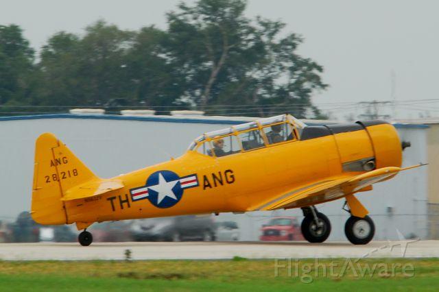 North American T-6 Texan (N5632V) - 2013 Sun n Fun Parade of Planes