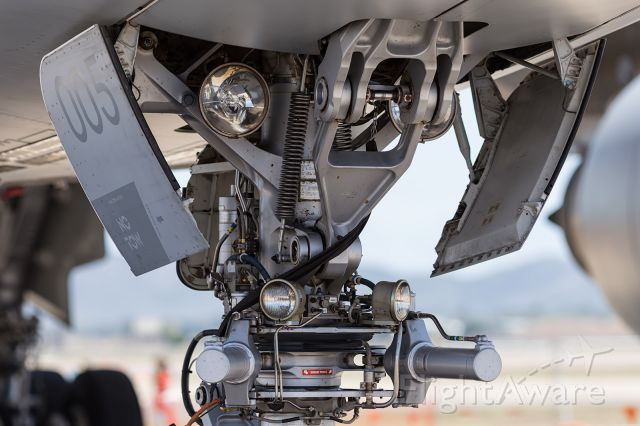 Airbus A330-200 — - Close up detail of the nose gear of an RAAF, KC30A, MRTT.