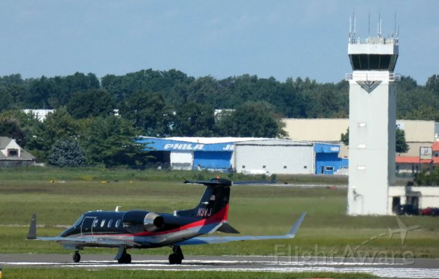 Learjet 31 (N3VJ) - On the departing runway is this 1991 Learjet 31A in the Summer of 2021.