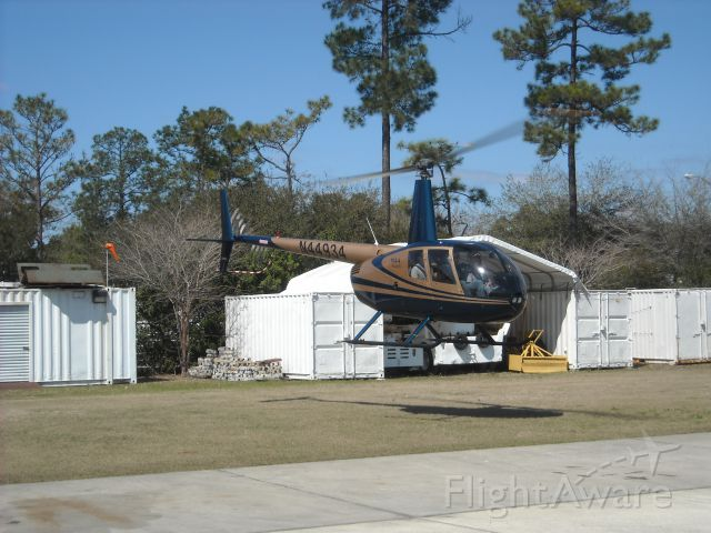 Robinson R-44 (N44934) - An attractive Raven II stopping in for a visit.