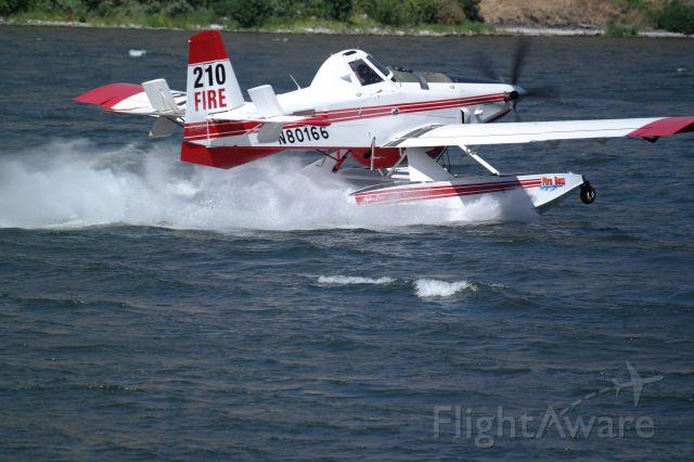 AIR TRACTOR Fire Boss (N80166) - snake river fire